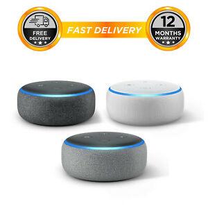 Amazon Echo Dot 3rd Generation Gen Alexa Speaker, £26.77, sold by hitechelectronicsuk eBay