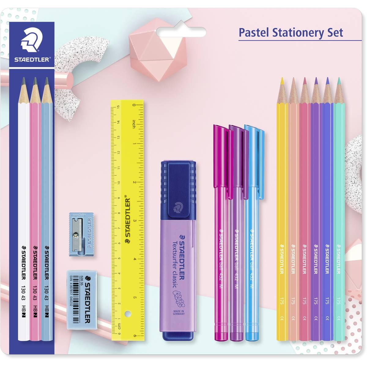 Staedtler pastel stationery set 55p @ ASDA (Taunton)