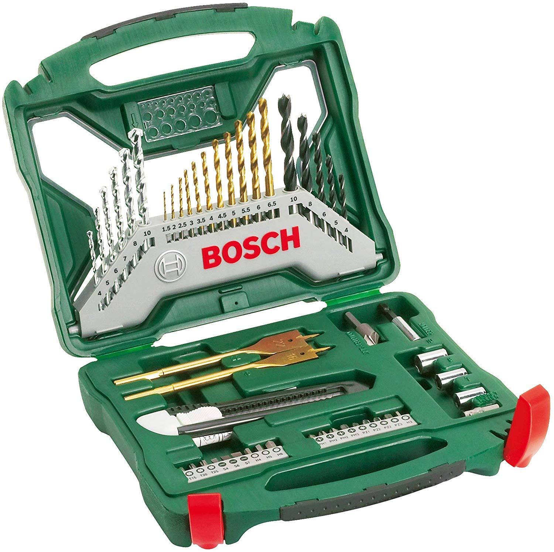 Bosch 2607019327 X-Line Accessory Set, 50 Pieces £12.99 (Prime) £17.48 (Non Prime) @ Amazon