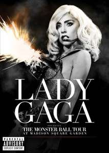 Lady Gaga Live Concert Monster Ball Tour at Madison Square Garden £5 @ CEX in-store or £6.50 Delivered (Pre-owned) RARE