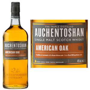 Auchentoshan Single Malt Scotch Whisky American Oak 70cl for £20 @ ASDA