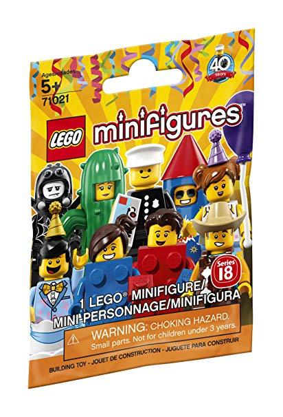Lego 71021 Minifigures series 18 £1 per pack @ WH Smith (Blackburn)