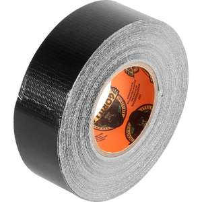 Gorilla Cloth Duct Tape Black 25mm x 9.14m £2.67 at Toolstation