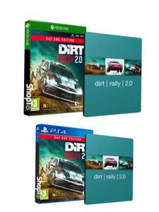 [Xbox One/PS4] DiRT Rally 2.0 Day One Edition inc SteelBook £17.85 delivered @ Shopto