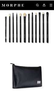 12 piece set of Morphe brushes with bag - £20 with code @ Morphe