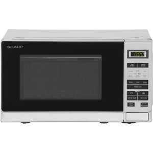 Sharp Microwave R220SLM 20L 800 Watt Silver / White £44 delivered with code  @ AO ebay