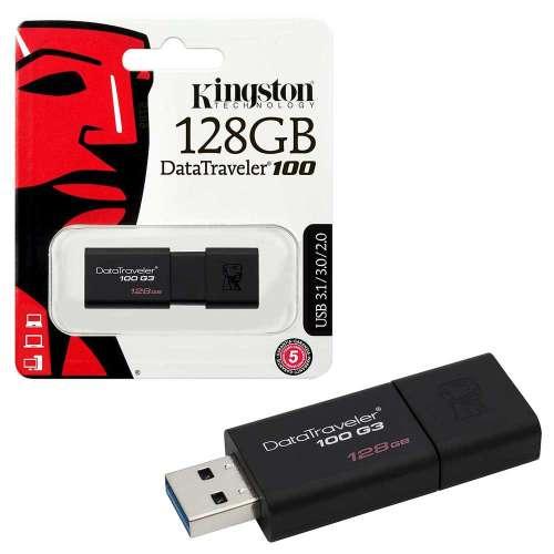 Kingston Data Traveler 100 G3 USB 3.1 Flash Drive Memory Stick 100MBs- 128GB £14.99 @ 7dayashop
