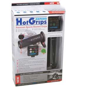Oxford HotGrips Sport V8 Motorcycle Heated Handlebar Grips Pair Set Hot £39.91 at m_and_p eBay