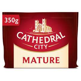 Cathedral City Mature / Extra Mature / Mild Cheese 350g £1.89 @ Iceland