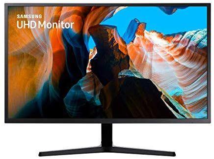 Samsung LU32J592UQUXEN 32-Inch Ultra HD 4K 3840 x 2160 LED Monitor - Black £229 at Amazon IT