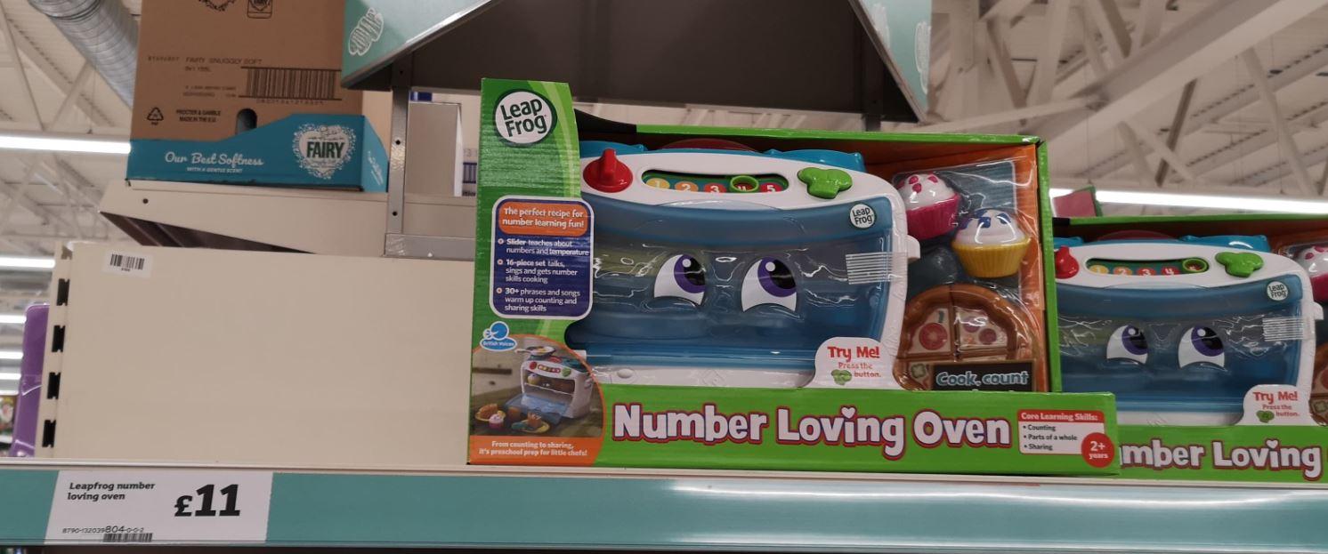 Leapfrog Number Loving Oven £11 in Sainsburys instore