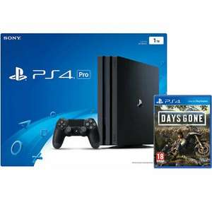 PlayStation 4 Pro (PS4 Pro Gamma Chassis) with Days Gone £291 with code delivered @ AO eBay