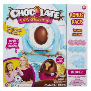 Chocolate Egg Maker with Extra Bonus Pack £3.80 at Amazon Add-on