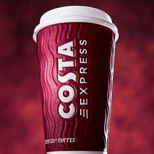 FREE Coffee from Costa Express machines