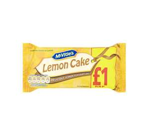McVities Lemon Cakes Now 2 For £1 @ Iceland