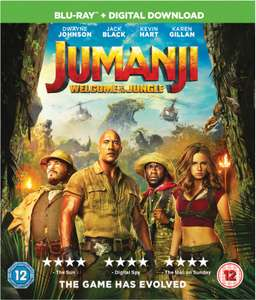 Jumanji Welcome To The Jungle (Blu-ray) [New & Sealed] - £3.89 Delivered @ Cast-iron-dvds / eBay