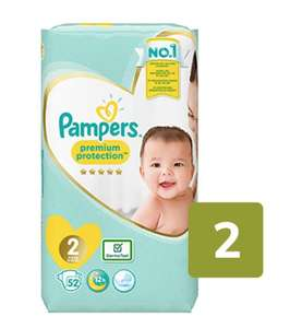 Pampers nappies - all sizes, including Premium Protection range £3.75 @ Ocado