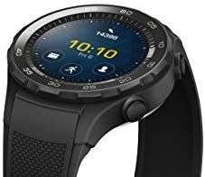 Huawei Watch 2 Bluetooth 4GB Black Smartwatch - £132.93 Or £127 W/A Fee Free Card @ Amazon Italy
