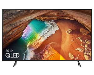 "Samsung QE55Q60R (2019) QLED HDR 4K Ultra HD Smart TV, 55"" Charcoal Black 5 year guarantee included £782.10 at Crampton & Moore"