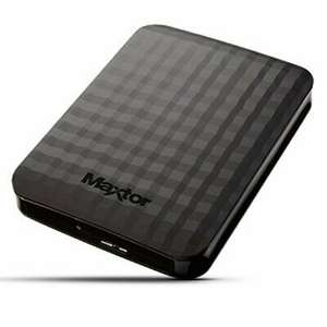 4TB Maxtor M3 USB 3.0 Portable External Hard Drive £73.63 with code delivered @ Ebuyer eBay