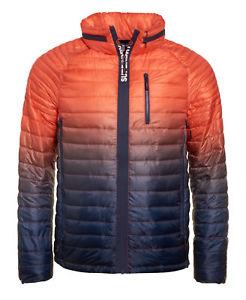 New Mens Superdry Power Fade Jacket Ink/Orange £25.59 at Superdry eBay
