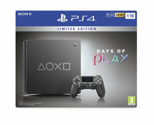Sony 1TB PS4 Days of Play Limited Edition £234.31 @ ebuyer_uk_ltd Ebay