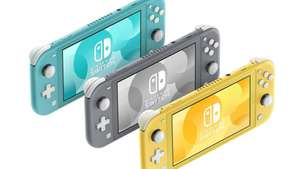 Nintendo Switch Lite (All colours : Yellow / Grey / Turquoise) £187.85 Delivered @ Shopto £187.85 @ ShopTo