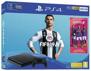 Sony PlayStation 4 500GB FIFA 19 Bundle £191.99 delivered with code @ xsitems_ltd ebay