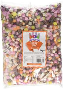 Barratt Dolly Mixture (3kg Bag) £12.78 delivered @ Monmore Confectionery/ Amazon