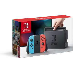 Nintendo Switch console and add a selected game for £299.99 @ Argos