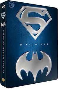 Batman / Superman [9 Film Blu-ray Steelbook Box Set] - £25.02 delivered @ Amazon.fr