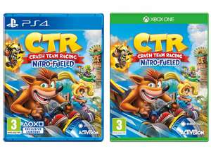 Crash Team Racing Nitro-Fueled (PS4 / Xbox One) for £19.99 delivered @ Smyths
