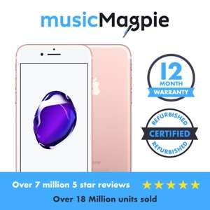 iPhone 7 32gb Rose Gold - Good Condition on Vodafone £127.99 eBay /  musicmagpie
