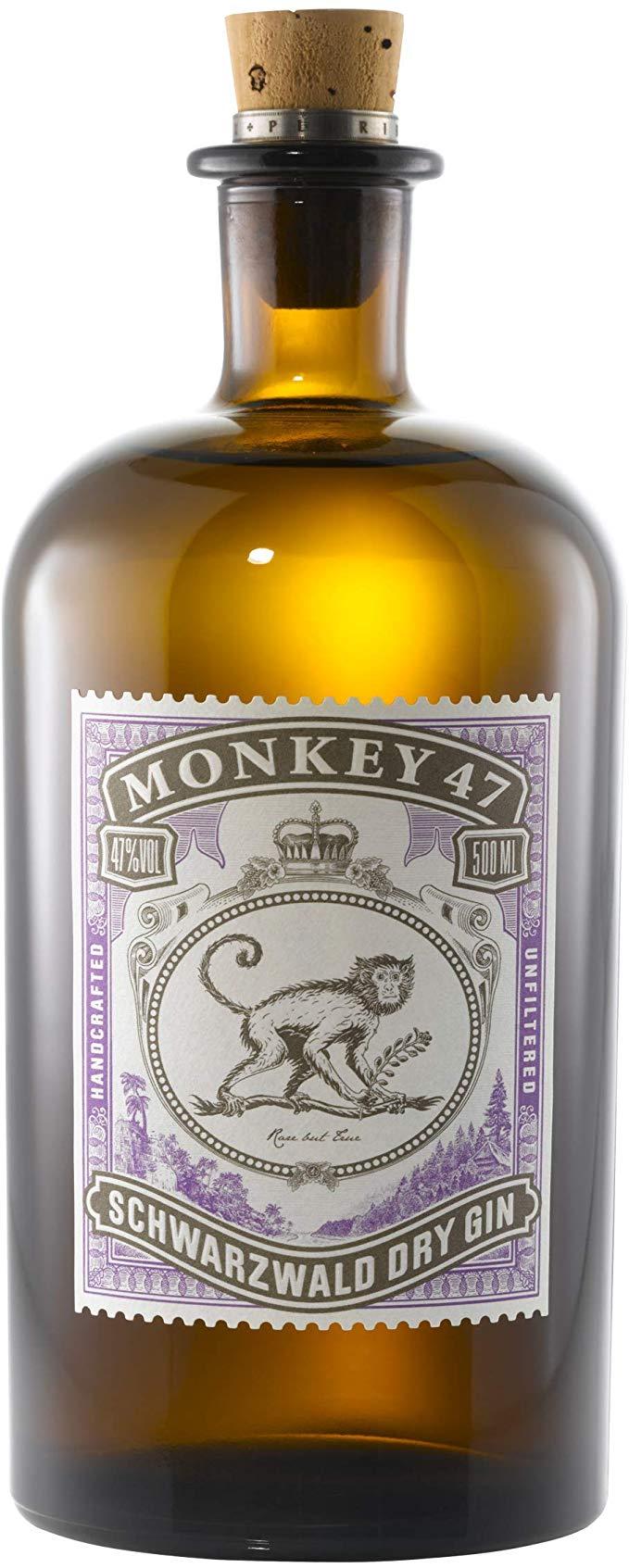 Monkey 47 Schwarzwald Dry Gin, 50cl £29.48 Amazon