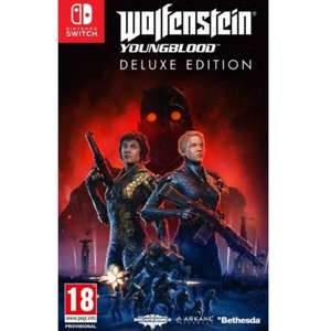 Wolfenstein young blood Deluxe Edition  Nintendo switch £18.95 The Game Collection