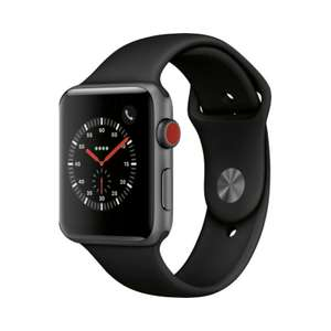 Refurbished Apple watch nike+ series 3 42mm gps and 4g £155.99 ebay /  musicmagpie