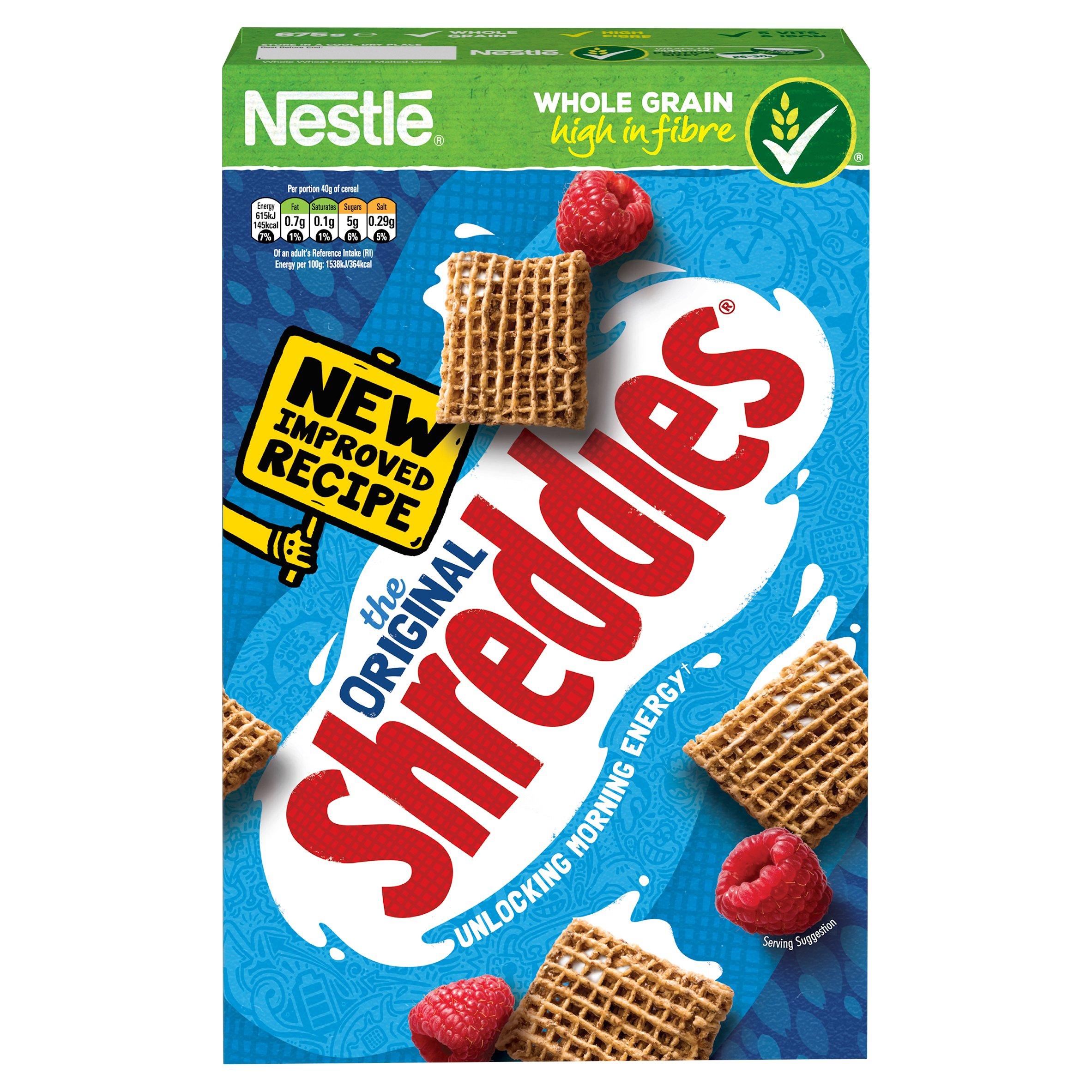 Nestle Shreddies Original Cereal 675g for £1.45 @ Tesco