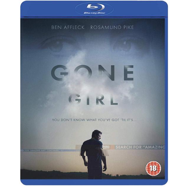 Gone Girl Blu-ray now £3.60 (Prime) + £2.99 (non Prime) at Amazon