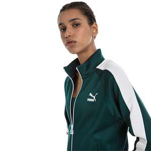 Classics T7 PT Women's Track Jacket in Green or Black (was £50) Now £21.45 delivered with code @ PUMA