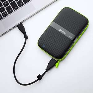 Silicon PoweMilitary Grade 2 TB External Portable Hard Drive Shockproof Water-Resistant USB 3.0 £58.49 @ Amazon