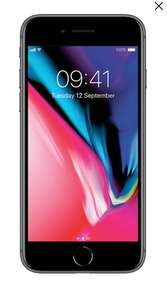 iphone 8 EE 30GB Data Unlimited Minutes Unlimited Texts £33 p/m 24 months - £792 @ Mobile phones direct