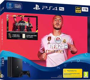 Fifa 20 PS4 Pro 1TB Bundle (PS4)  for £319.99 on Amazon