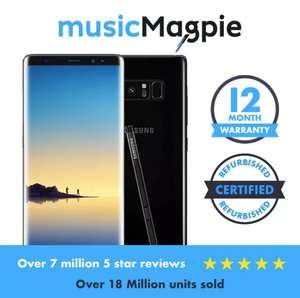 Samsung Galaxy Note 8 64GB Unlocked V Good Condition £289.99 @ Music magpie Ebay