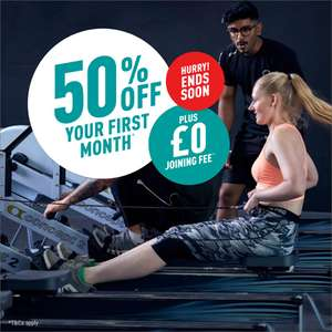 PureGYM HALF Price on your first month and no Join FEE