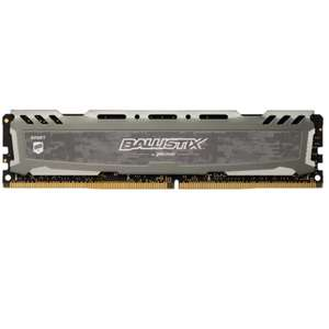Ballistix Sport LT 16GB (2x 8GB) 3000MHz DDR4 RAM C15 Memory, get 2 at £59.98 and free delivery from CCL