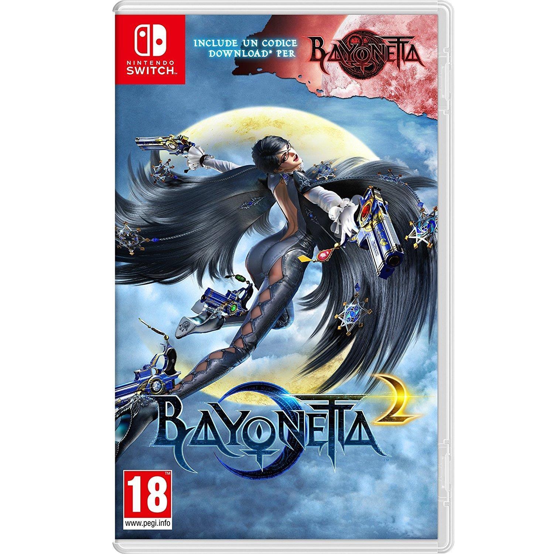 Bayonetta 2 -  with Bayonetta 1 code (Nintendo Switch) £34.99 @ Amazon