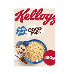 kellogg's white coco pops 480g with free bowl and spoon £2 @ iceland