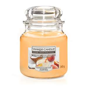 Medium Yankee Candle Home Inspiration 340g peach smoothie only scanning as £2 @  ASDA instore huyton  Liverpool