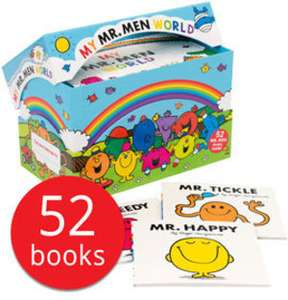 My Mr. Men World Collection - 52 Books £23 delivered @ The Book People