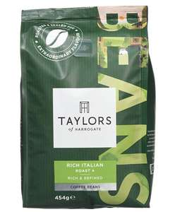Taylors of Harrogate Rich Italian Coffee Beans, 454 g, Pack of 3 (BIG BAGS) @ Amazon - £12.84 prime / £17.33 non prime